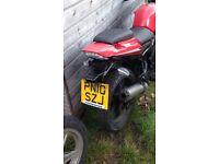 2010 plate Loncin 125cc