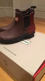 Rrp£140 excellent cond HUNTER boots size 3- pick up Marble Arch worn twice