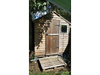 Wooden garden shed 8x6 ft