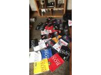 The north face and Hugo boss t shirts