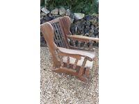 Wooden Rocking / Nursing Chair