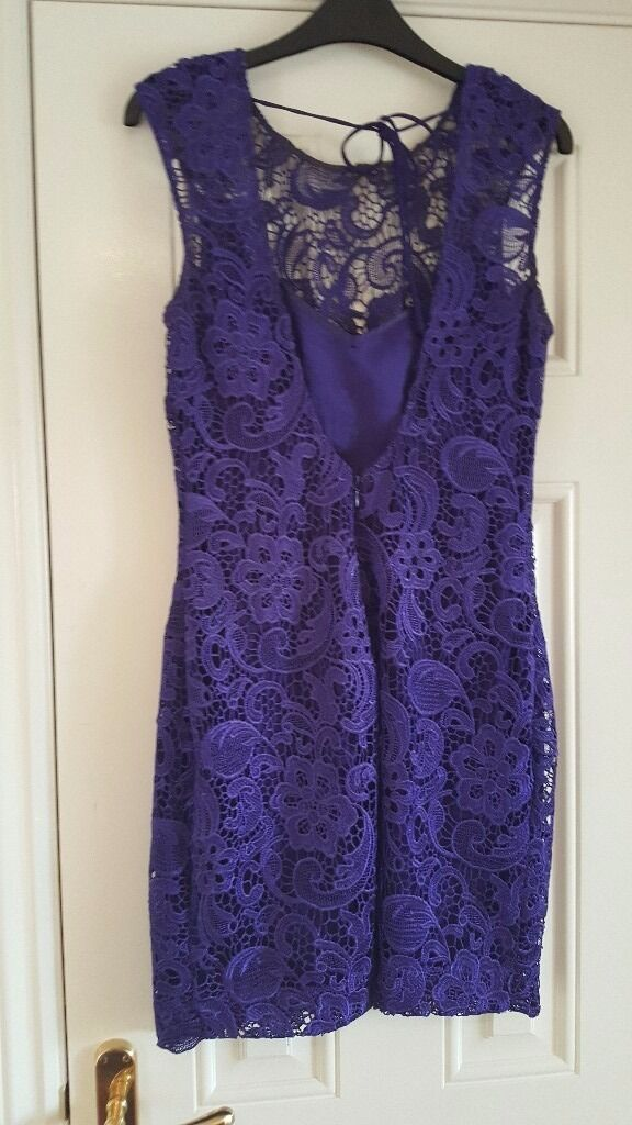 Lipsy dressin Kilmarnock, East AyrshireGumtree - Backless lipsy dress size 12, purple in colour. Selling for £20 as paid £80.00 originally