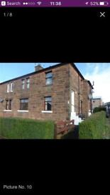 Unfurnished flat to rent in central location dumfries
