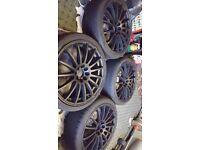 Alloys wheels 17 inch multi spoke