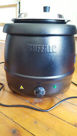 Buffalo Black Soup Kettle - L715, have been briefly used, in pristine condition, good as new