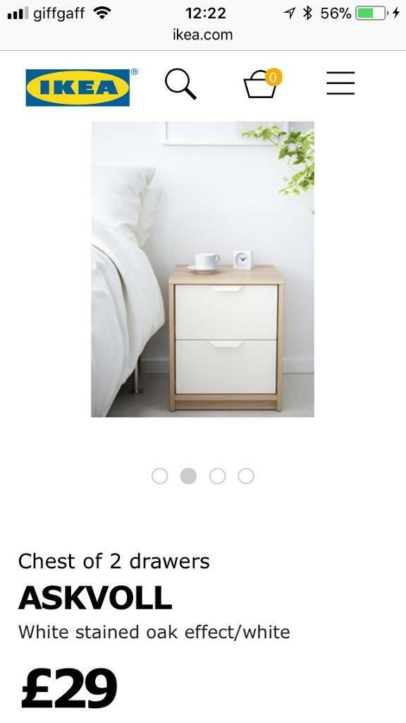 Chest of drawers x3