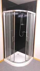 For sale complete shower and pedestal basin