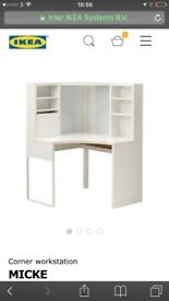 Ikea Corner Computer/Desk/workstation