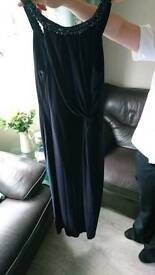 Monsoon Navy dress size 18