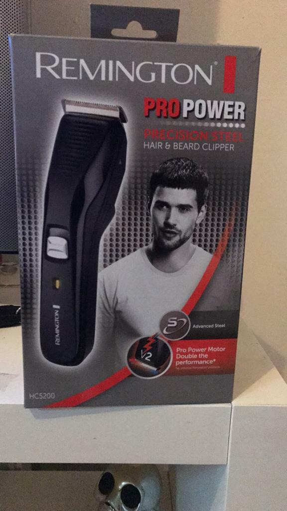MENS REMINGTON HAIR & BEARD CLIPPERS BRAND NEW