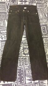 Levi's jeans black 34/34