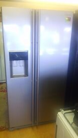 SAMSUNG Water and ice American fridge freezer, new Ex display