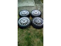 "ford 4 stud 17"" st alloys"