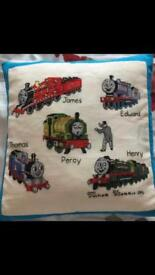 Thomas The Tank Engine / Thomas & Friends Embroidered pillow