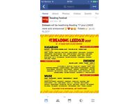 Reading Festival 2017 Weekend Ticket + Camping