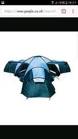 Pro action Canberra 12 person 3 room tent