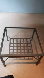 FREE glass table ready for pickup