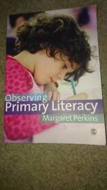 Observing Primary Literacy Book