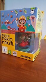 Mario Maker Wii U Special Edition 30th Anniversary with Amiibo and Book