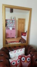Beautiful Vintage Large Mirror