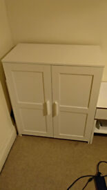 White cabinet BRIMNES from IKEA