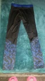 Gym pants, size 16