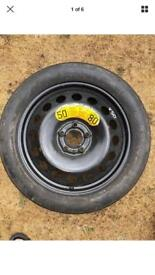 Michelin Tex Spare Wheel And Tyre - T 125/80 R17