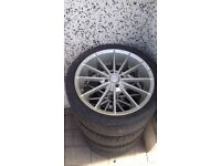 17 inch alloys and good tyres