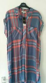 NEXT- longline shirt-dress