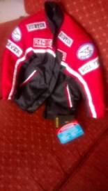 Child's motor cycle style jacket