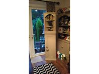 Solid pine dresser fits any corner finished in farrow & ball excellent condition feature in any room