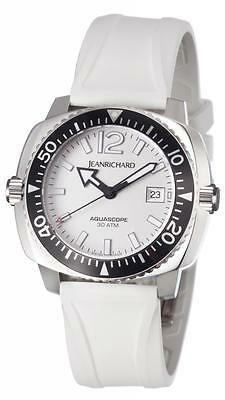 JeanRichard Aquascope Mens Diving watch 60140-11-11a-ac7d Brand NEW! JR Warranty