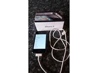 Apple iPhone 4 - 8gb black excellent condition unlocked in original box with charge cable
