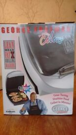 Brand New in Box. George Foreman Lean Mean Fat Grilling Machine