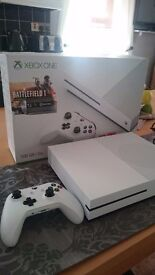 Xbox one S with battlefront 1