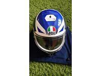 AGV KV3 Helmet, Medium, As New.