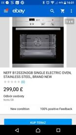 """All most new oven """"neff'"""