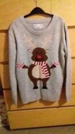 christmas jumper size 6