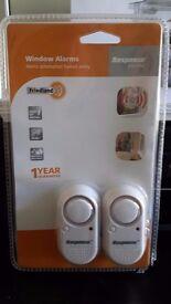 New Friedland Response Window Alarms Set of Two