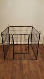 Heavy duty dog metal playpen