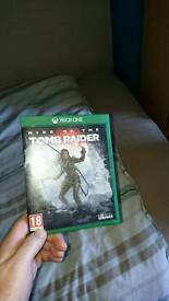 Rise of the tomb raider xbox one sale or swap