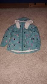 Winter coat for girl 2-3 years