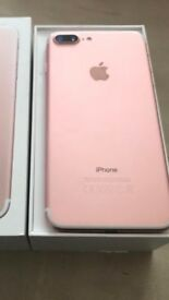 I phone 7 plus rose gold