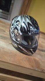 Shark RSR2 Duhamel motorbike helmet - LTD EDITION Immaculate