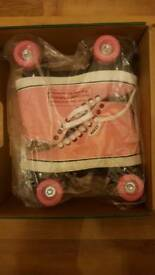 Brand New & Boxed Roces pink Roller Skates. Size 5/39