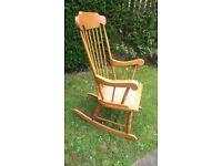 Rocking chair,romanian built