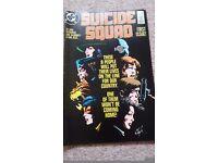 DC comics Suicide Squad No 1