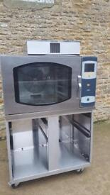 Mono single phase electric steam bake off oven