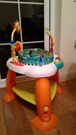 Bright starts bounce bounce baby activity station