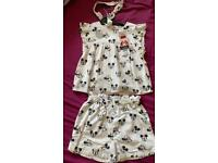 Disney Minnie Mouse Top Shorts and Headband Outfit size 2-3 years (new with tag)